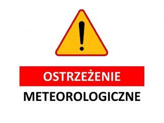 Ostrzeżenie meteo